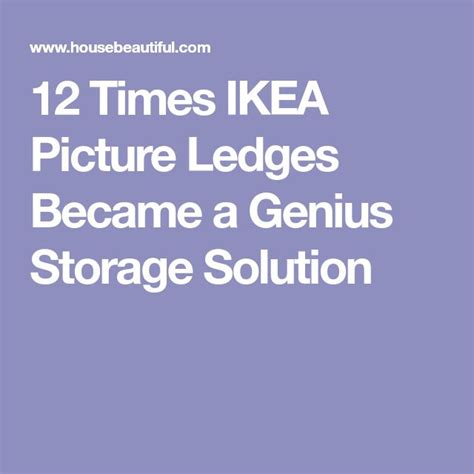 12 Times Ikea Picture Ledges Became A Genius Storage | the 25 best ribba picture ledge ideas on pinterest kids