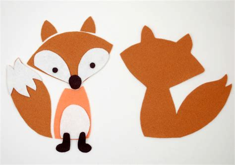 fox template timeless treasures fox blankie play set by abby