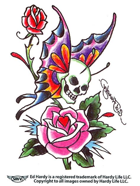 the gallery for gt ed hardy heart tattoo designs