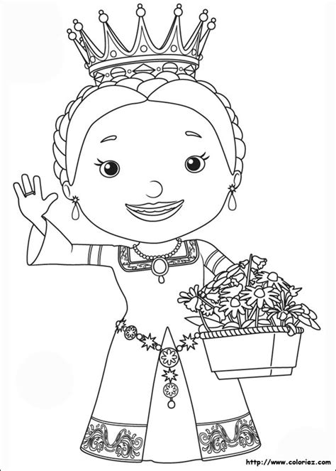 Coloriage Reine Martha