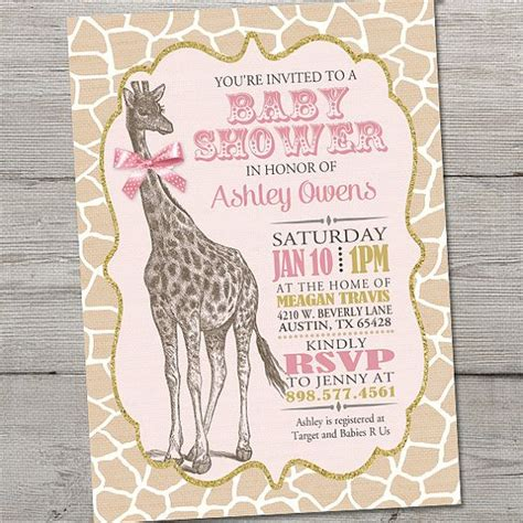 baby giraffe baby shower 25 best ideas about baby shower giraffe on