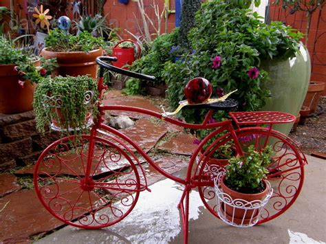 Bicycle Garden Planter by Crafts Hobbies New Bicycle Planter 1 By Fish Knees