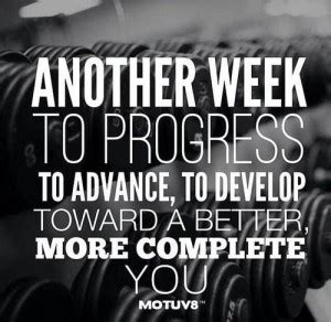week fitness quotes quotesgram