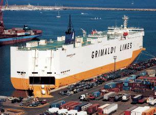 roro shipping american export lines international