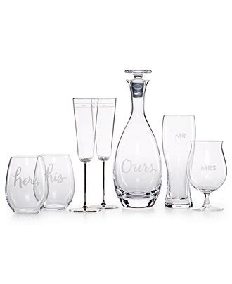 kate spade barware kate spade new york two of a kind barware collection all