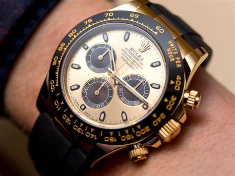 rolex daytona rolex cosmograph daytona watches in gold with oysterflex
