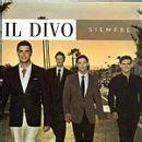 il divo siempre album il divo album siempre canciones