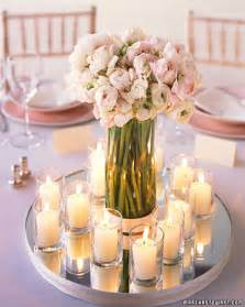 simple ideas for wedding centerpieces simple home