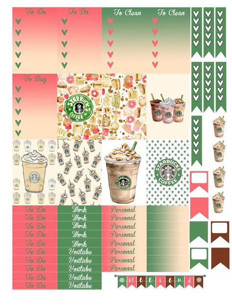 printable planner decorations planner layouts stickers google search planner
