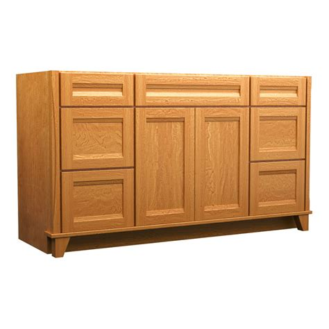 shop kraftmaid praline 60 in contemporary bathroom vanity