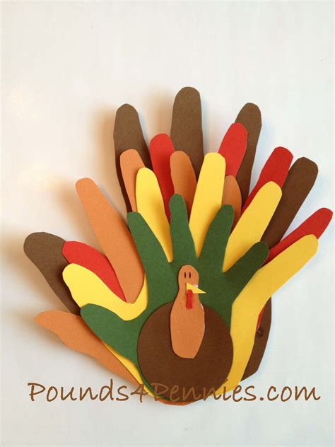 How To Make A Turkey On Paper - 7 simple diy thanksgiving decorations the paper