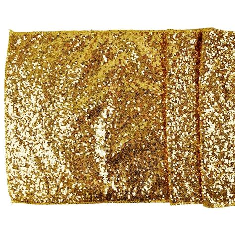 Gold Table Runners by Sequin Table Runner Solid Gold