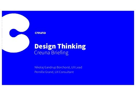 design thinking consultant get started with design thinking