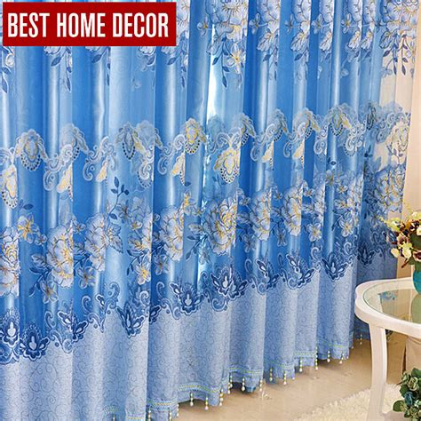 best home decor floral drapes window blackout curtains for