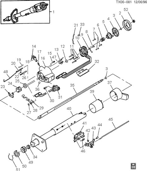 1977 corvette steering column diagram 1977 free engine
