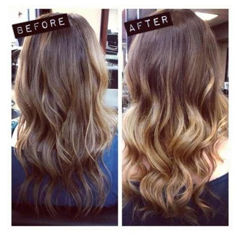 cut and inch off hair subtle ombre but cut 3 inches off blonde ambition 5
