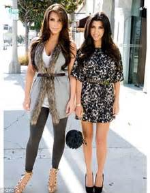 kardashians launch new fashion line for qvc daily mail