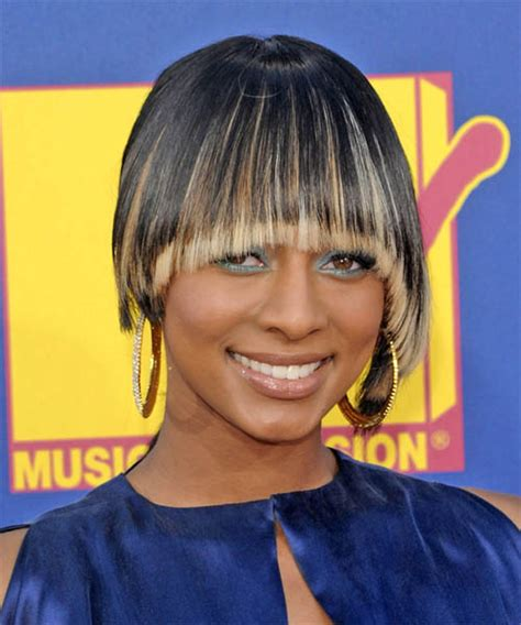 what type of hair does keri hilson have keri hilson short straight alternative hairstyle black