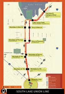 Seattle Streetcar Map by Washington Streetcar Systems By John Smatlak