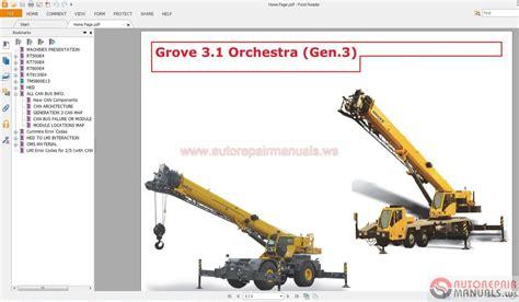 Free Auto Repair Manual Manitowoc Grove Service Training