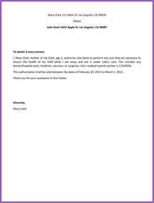 sle of authorization letter crna cover letter
