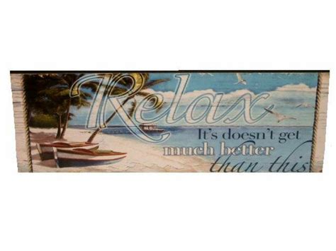 home decor stores in virginia beach beach sign relax wooden plaque