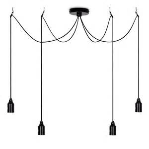 modern light fittings ceiling modern black 4 way suspended ceiling pendant light