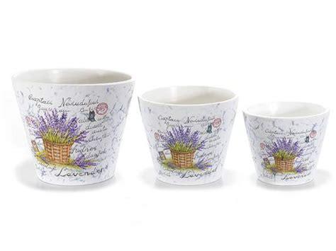 vasi porta piante antica soffitta set 3 vasi ceramica porta piante fiori