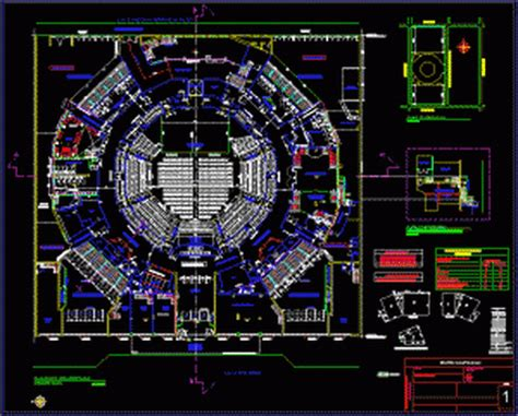 free download autocad layout plan caupolican theater dwg www ma grup com