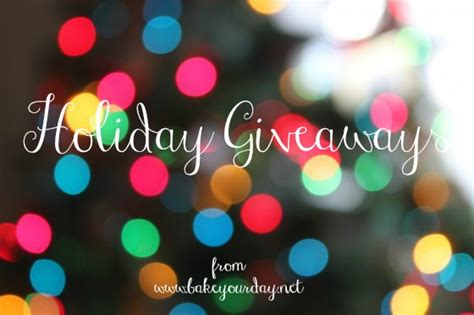 Holiday Giveaways - christmas crafts give away gifts