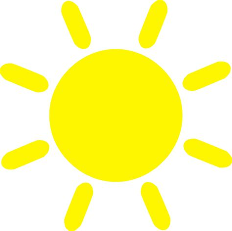 sun clipart sun weather summer 183 free vector graphic on pixabay