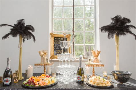 great gatsby bridal shower food host a flapper bridal shower for your tennessee wedding