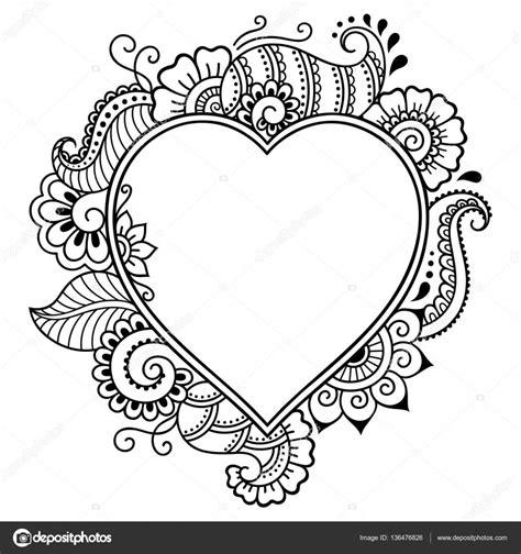 cornici cuore meglio di disegni cornici a cuore da colorare migliori