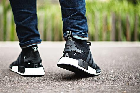 Diskon Adidas Nmd R1 Pk Japan Black White Premium Original Sepatu Ker adidas nmd r1 primeknit black japan sneakers addict