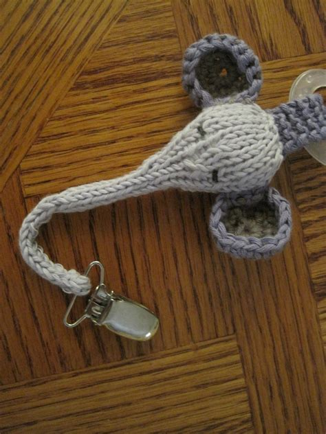 free crochet pattern pacifier holder crochet pacifier holder http lomets com
