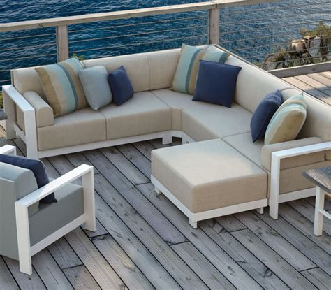 modular outdoor furniture cast aluminum patio furniture homecrest grace modular bishop s centre bishop s outdoor