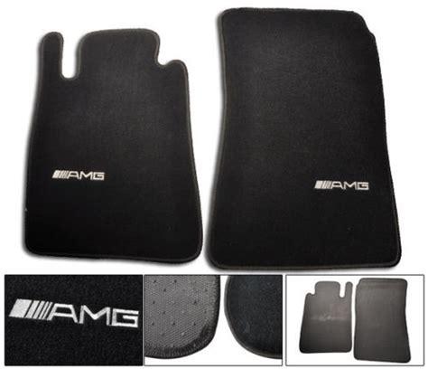 Mercedes Amg Floor Mats by For 05 10 Mercedes R171 Slk Black Floor Mats