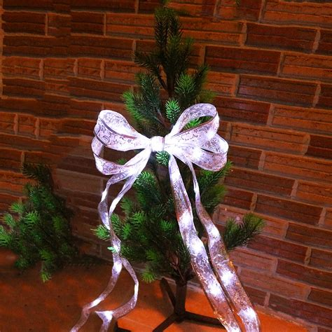 how to string ribbon on a tree 40leds ribbon led string lace tree patry trendy cloth decor 4m 4 colors for gift