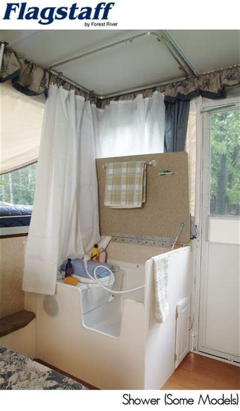 pop up tent trailer with bathroom what attaches on the ceiling here popupportal