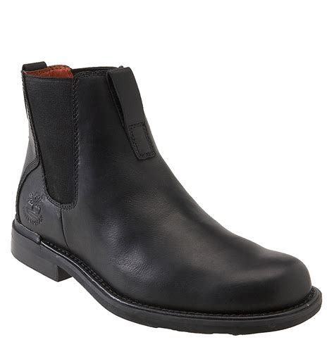 timberland chelsea boots timberland mt washington chelsea boot in black for
