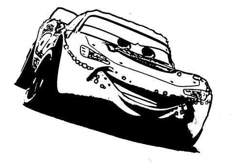disney cars lightning mcqueen coloring pages