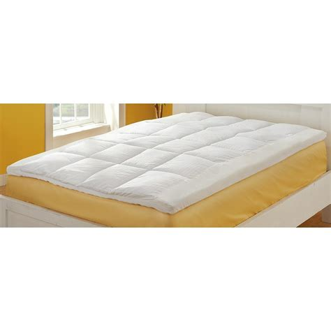 fiber bed topper dream cradle memory foam fiber topper 198253 mattress