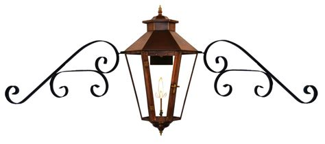 electric lights that look like gas lanterns the coppersmith bayou collection gas and electric