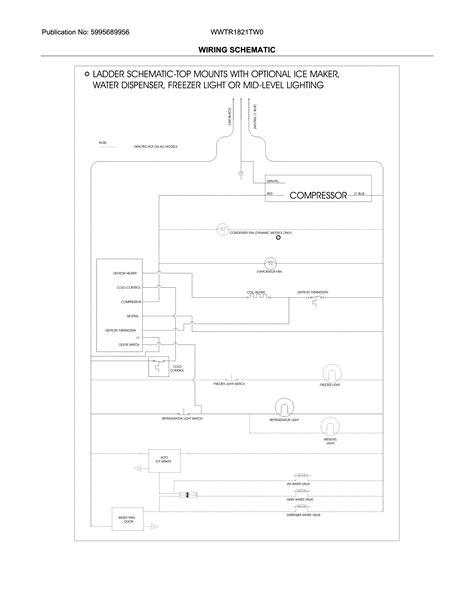 westinghouse refrigerator wiring diagram wiring diagram