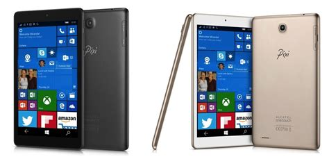 windows mobile tablet alcatel onetouch announces the pixi 3 an 8 inch windows
