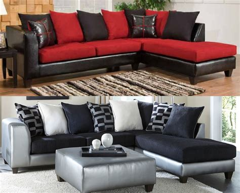 your favorite bold colored sectionals american freight