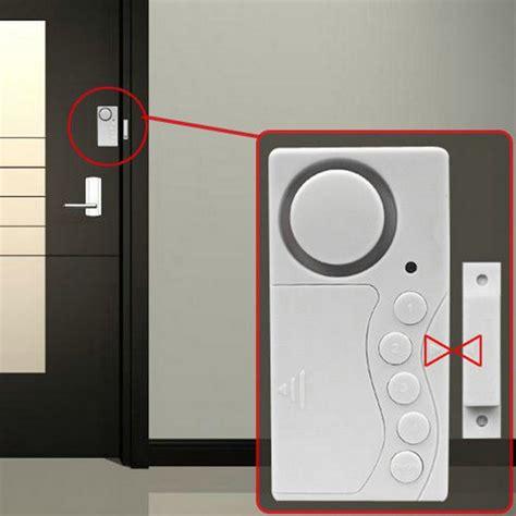 2017 newest magnetic sensor wireless alarm system door