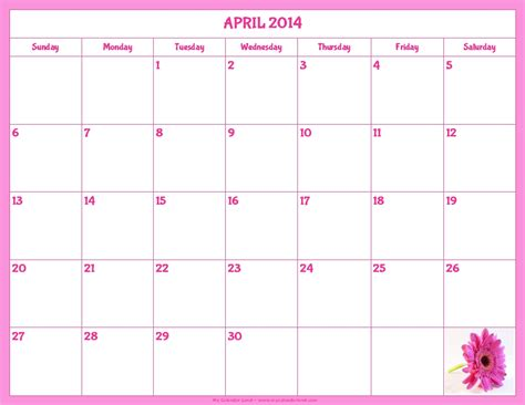 blank 2014 calendar template 5 best images of printable monthly calendar 2014 only