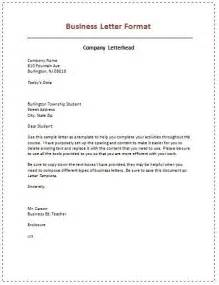 Business Letters Kinds And Examples Different Types Of Business Letters Business Letter