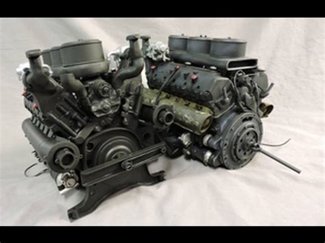 maybach tank engine 1 6th scale early tiger i tank maybach hl210 engine